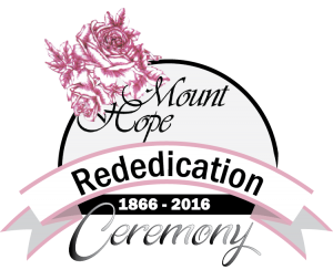 Mount Hope Re-dedication Ceremony LOGO